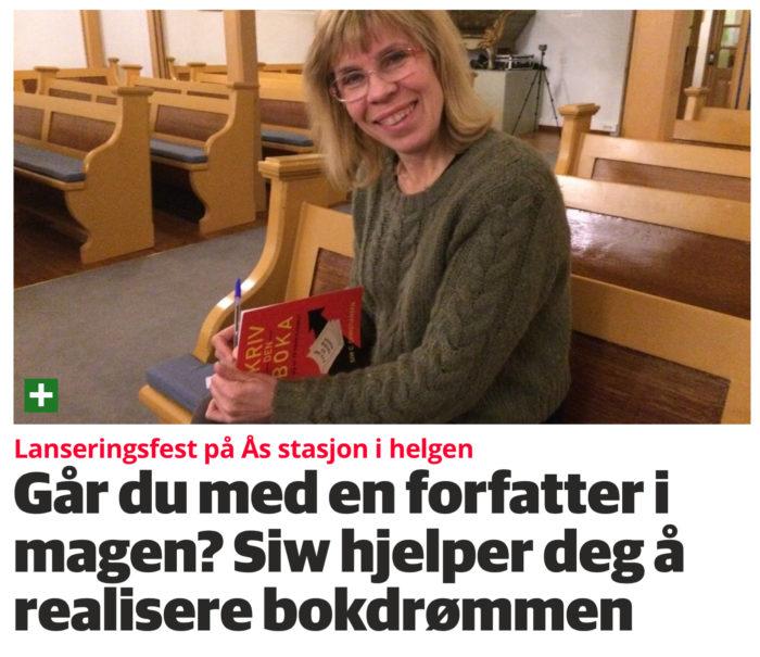 Faksimile Ås Avis 30.11.2017