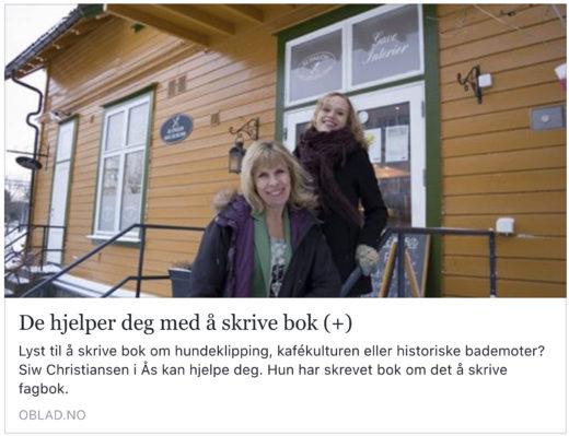 Faksimile Østlandets Blad 30.11.2017