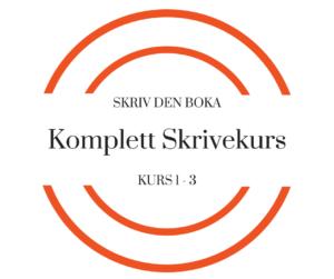 SKRIV DEN BOKA Komplett skrivekurs logo