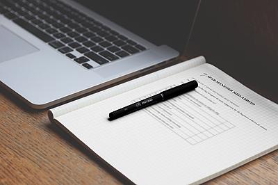 Skriv den boka arbeidsbok eksempelside