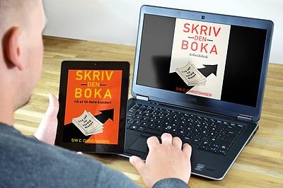 «Skriv den boka» Hovedbok og arbeidsbok e-bøker